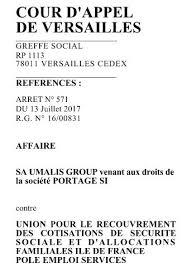 si e pole emploi umalis fait condamner les urssaf et pole emploi en appel 18 juillet