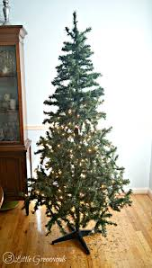 White Artificial Christmas Trees Walmart by Update A Fake Christmas Tree For Less Than 10 By 3 Little Greenwoods