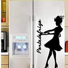 wandaufkleber kühlschrank tür poster ziehen sie den