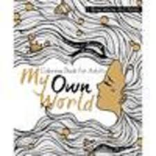 My Own World Coloring Book For Adults