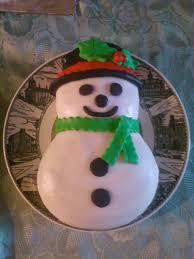 Frosty Snowman Christmas Tree by Salleeb U0027s Kitchen Christmas Mini Cake Magic Frosty The Snowman