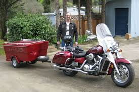 Motorcycle Camper Trailers