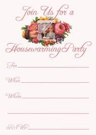 Housewarming Greeting Cards Printable 25 Unique Invitation Templates Ideas