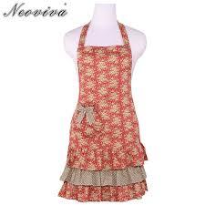 femmes plus cuisine neoviva coton sergé femmes tabliers avec poche pour la cuisine