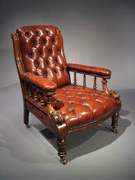 Antique Victorian Leather Oak Chair - Loveday Antiques Early Victorian Mahogany And Leather Armchair C 1850 United 19th Century Pair Of English Armchairs For Sale Stunning Antique Marylebone Antiques Quality 1870 England From Deep Buttoned C1850 429276 Burgundy Gentlemans Chairs Accent Chair Whit Oval Back And Arm Occasional Ideas
