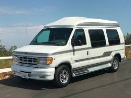 14K Mile 1999 Ford Econoline Waldoch Conversion Van