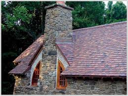 metal roof that looks like clay tile tiles home design ideas