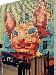 dallas deep ellum sanctioned street art via the 42 murals
