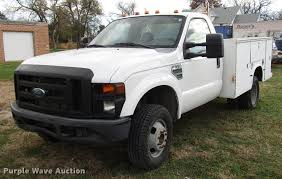 100 Pickup Truck Utility Beds 2008 Ford F350 Super Duty Utility Bed Pickup Truck Item DD