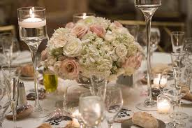 Should Non Traditional Wedding Centerpieces Match Lush Centerpiece Of Hydrangea Ruscus Eucalyptus Roses And