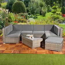 mucola gartenmöbelset lounge gartenmöbel set sitzgruppe gartenlounge sitzgarnitur polyrattan gartenmöbel 8 tlg kaufen otto