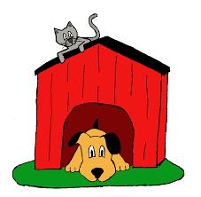 Cute Dog House Clipart Free
