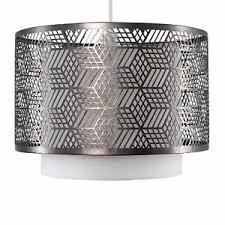 Geometric Ceiling Pendant Shade Designer Mesh Light Shade Fitting