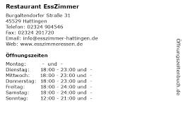 ᐅ öffnungszeiten restaurant esszimmer burgaltendorfer