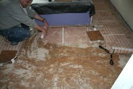 heating mats for tile floors floor heating electric