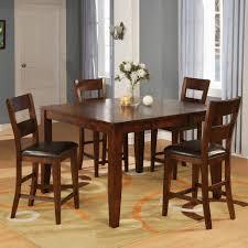 Holland House 1279 Mango Counter Pub Table Set With 4 Bar ...