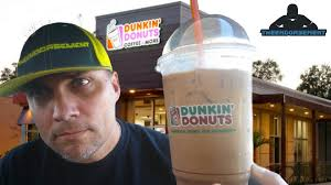 DUNKIN DONUTS ICED COFFEE REVIEW 213