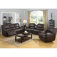 Engaging Brown Leather Sofa And Loveseat Couch Furniture