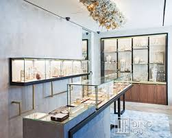 JE196 Creative Fashionable Jewellery Showroom Retail Display Rack Designs