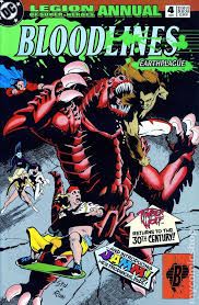 Legion Of Super Heroes 1989 Annual 4