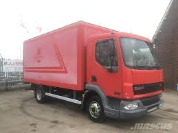 100 Used Box Trucks For Sale By Owner DAF LF45130 Manufacture Date Yr 2005 Price 5082 Box Body