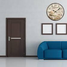 home küche büro und schlafzimmer ganada 12zoll wanduhr