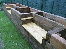 the 25 best planter bench ideas on pinterest cedar bench back