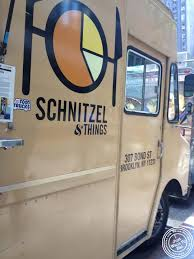 100 Food Trucks In Nyc I Just Want 2 Eat Schnitzel And Things Truck In NYC