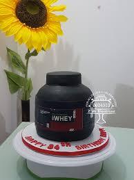 whey cake edible printing protein shakes whey