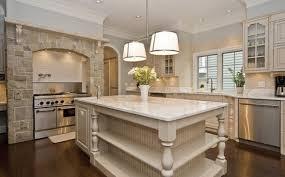 Large Beautiful Kitchens With Island Big Kitchen