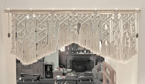Fringe Dweller Macrame Door Valance Not Mine Not Yours