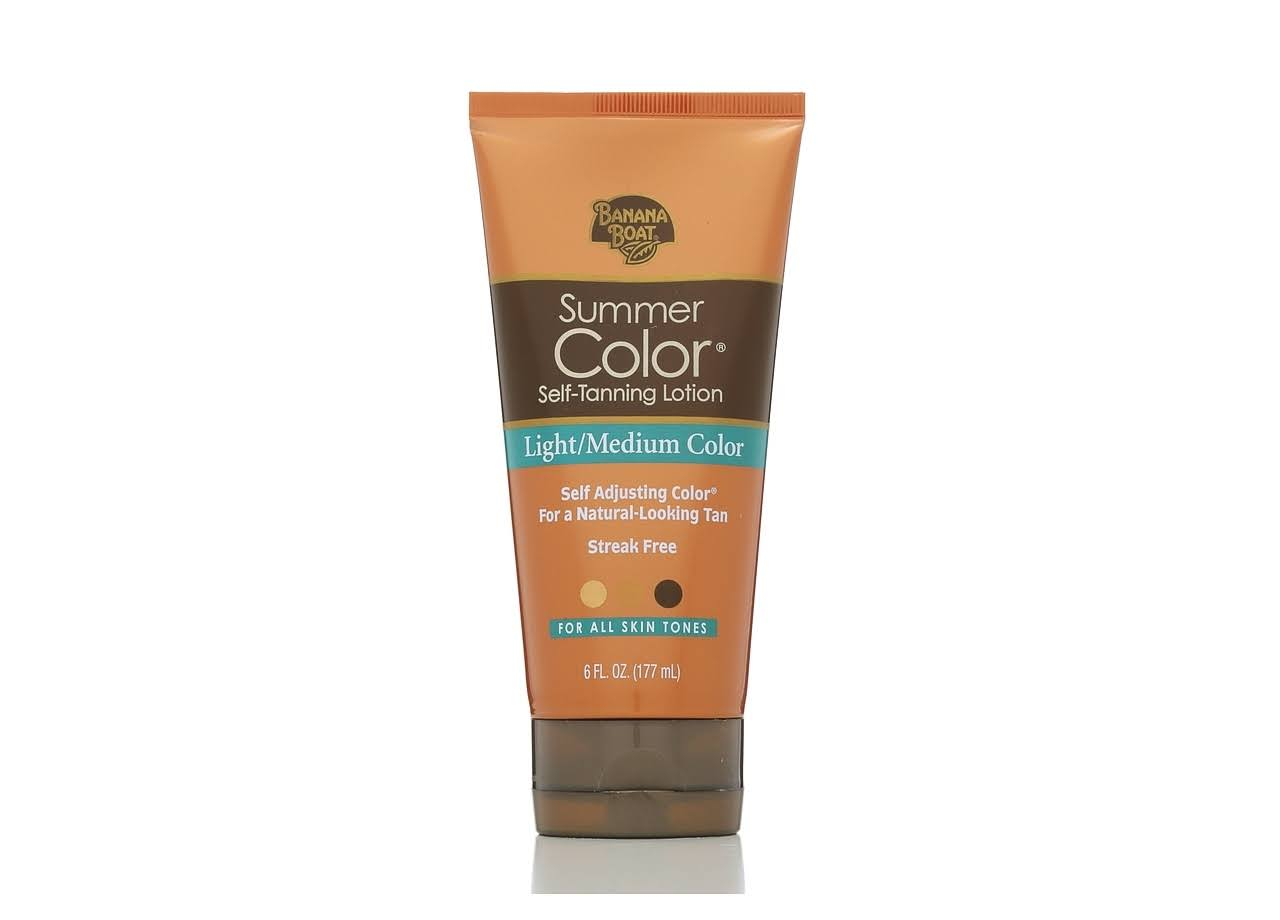 Banana Boat Summer Color Self-Tanning Lotion - Light Medium Color, 6oz