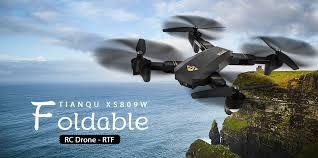 Rc Desk Pilot Calibration by Tianqu Xs809w Foldable Rc Quadcopter Rtf 0 3mp Camera 40 73