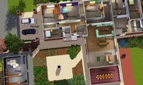 Simple Layout Of A Villa Placement by Simple Sims 3 House Layouts Placement House Plans 84894