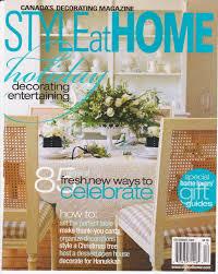 Home Decor Magazine Canada by Press Clippings For Willmac Design Toronto