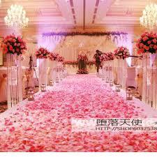 Aliexpress Buy Wedding decoration quality raw silk rose