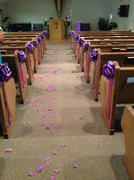 Quinceanera Decorations For Hall by This Is How I Decorated The Church Benches For My Daughters