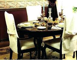 Dining Table Slipcovers Chair Covers Chairs How To Make Simple For Room In My Own Style