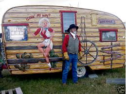 Here Is Info About The Trailer Rare Vintage Shasta Camper Painted Style By Artist Teri Freeman Rustycowboy2Painted Like Log