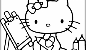 Hello Kitty Coloring Pages Printable Gsy4m
