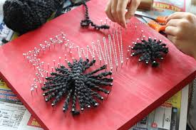 Let Your Kids Make Great String Art For Their Rooms This Is The Perfect Craft Step 9