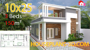 100 Photo Of Home Design House Plans 10x25 With 3 Bedrooms