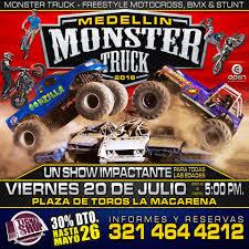 100 Monster Truck Freestyle MEDELLN MONSTER TRUCK FREESTYLE Open Entertainment Facebook