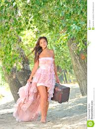 beauty in a old fashioned dress stock images image 24140344