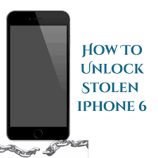 A Judgment Free Guide How To Unlock Stolen iPhone 6 Successfully