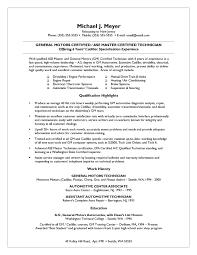 Samples Of Resume Styles