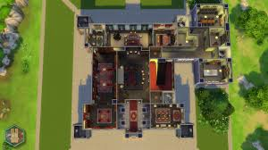 Highclere Castle Ground Floor Plan by Mod The Sims Downton Abbey Highclere Castle No Cc