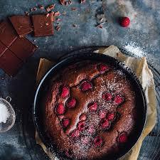 brownie himbeer kuchen