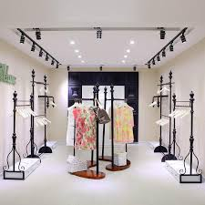 2018 Wholesale Clothing Store Shelves On The Wall Display Floor Rack Wrought Iron From Xwt5242