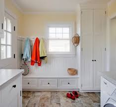 Harbor View Mudroom Laundry Room Traditional